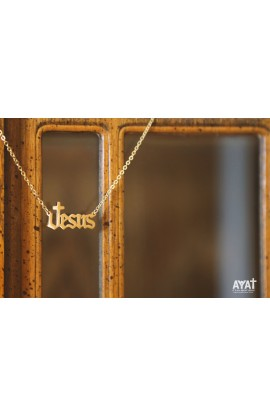 JESUS NECKLACE (GOLD)