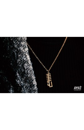 JESUS GEOMETRIC NECKLACE (GOLD)