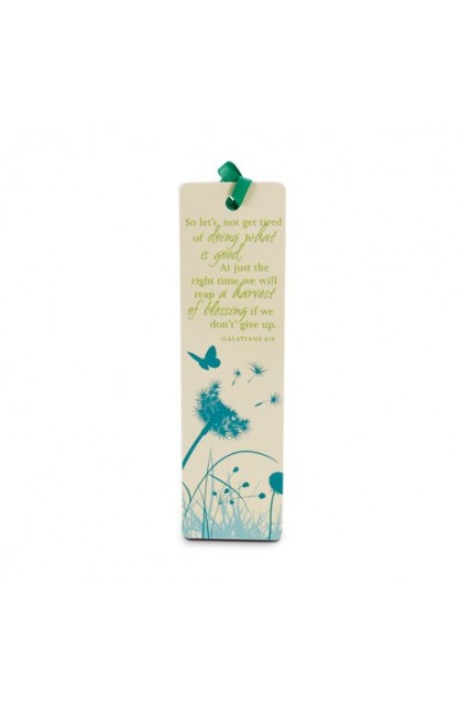 DOING WHAT IS GOOD DANDELION BOOKMARK