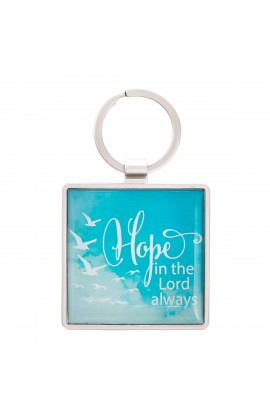 KEYRING METAL HOPE IN THE LORD