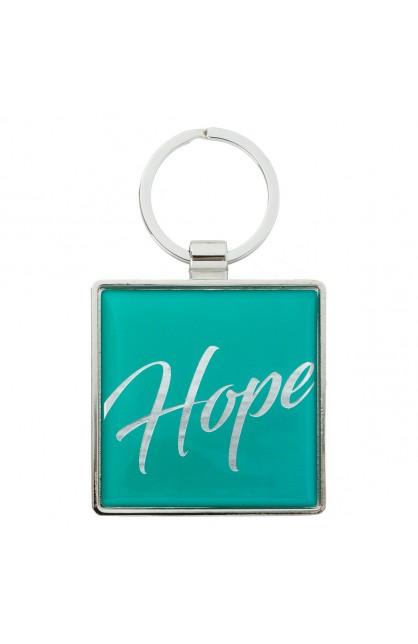 KEYRING METAL HOPE