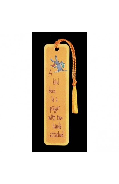 A KIND DEED BOOKMARK