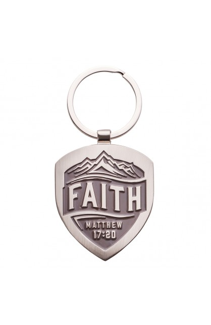 KEYRING METAL FAITH