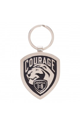 Keyring Metal Courage