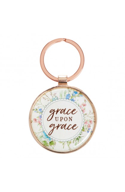 KEYRING IN TIN GRACE UPON GRACE