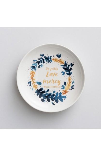 Love Mercy Trinket Dish