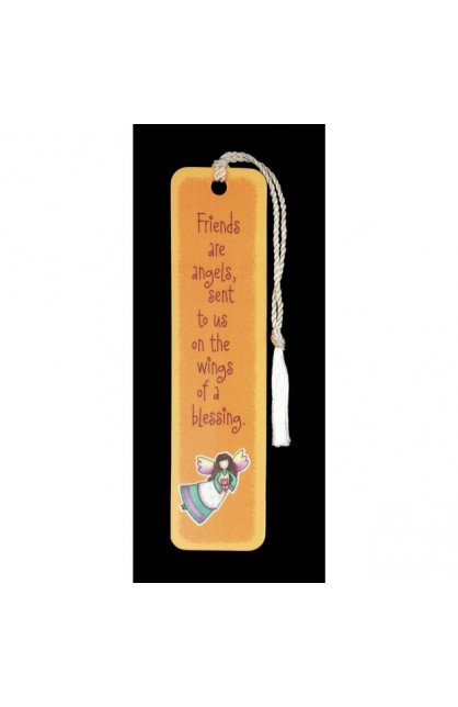 FRIENDS ARE ANGELS BOOKMARK