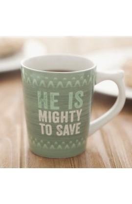 H&S Mighty To Save Mug