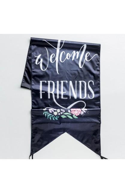 Door Banner Welcome Friends