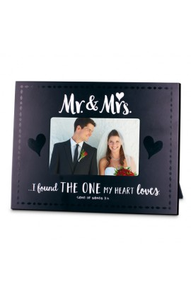 MR & MRS HANDWRITTEN FRAME