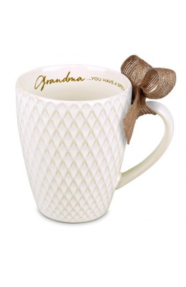 GRANDMA TEXTURED BLESSINGS CERAMIC MUG