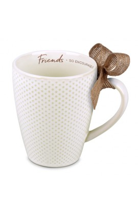 FRIEND TEXTURED BLESSINGS CERAMIC MUG