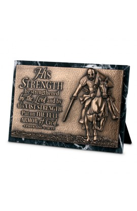 STRENGTH RECTANGLE PLAQUE SCULPTURE