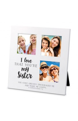 I LOVE THAT SISTER COLLAGE SM FRAME