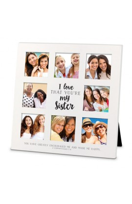 I LOVE THAT SISTER COLLAGE FRAME