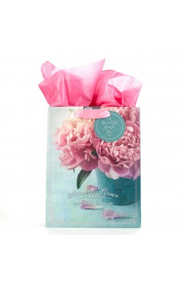 Gift Bag Md Amazing Grace Peony Vase