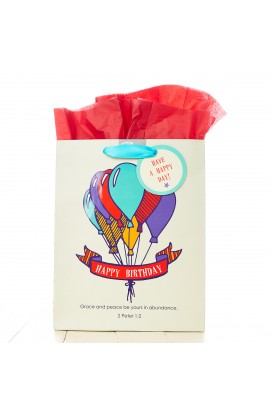 Gift Bag Md Happy Birthday 2 Pet 1:2