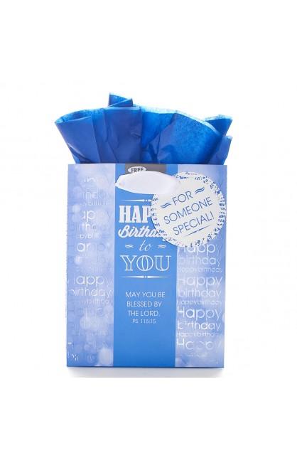 Gift Bag Sm Happy Birthday Ps 115:15