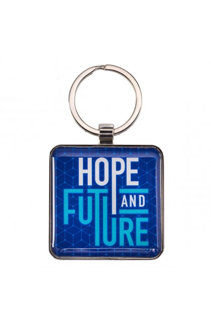 Keyring in Tin Hope and Future