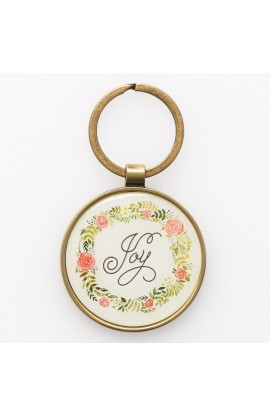 Keyring in Tin Joy Rom 12:12
