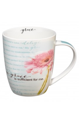"""His Grace Is Sufficient"" Ceramic Mug"