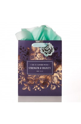 Gift Bag Md Strength & Dignity