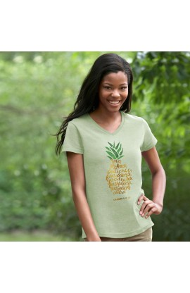 PINEAPPLE GRACE & TRUTH V-NECK T