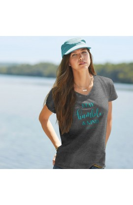 SAY HUMBLE & KIND GRACE & TRUTH V-NECK T