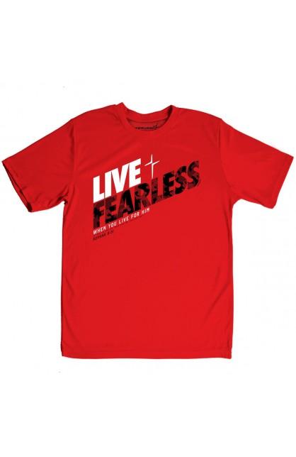 LIVE FEARLESS KERUSSO ACTIVE MEN'S T