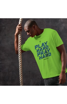 PLAY HARD PRAY HARD KERUSSO ACTIVE MEN'S T