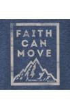 FAITH CAN MOVE MOUNTAINS ADULT MEN'S V-NECK