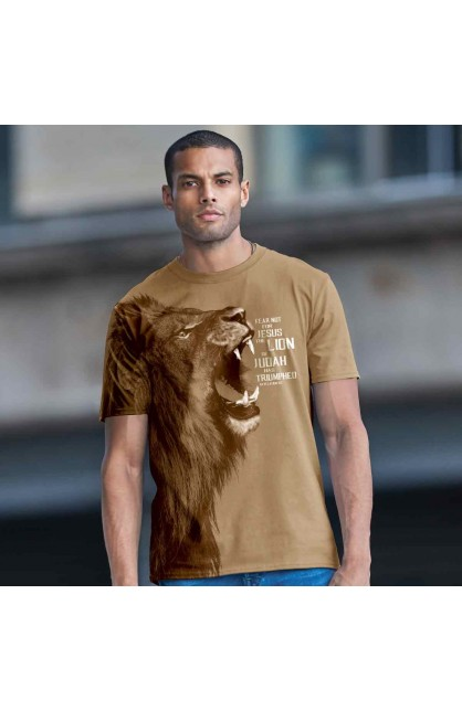 LION ADUL ALL-OVER PRINT T