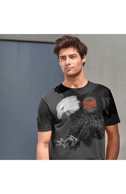 EAGLE ADULT ALL-OVER PRINT T