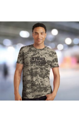 STAND STRONG ADULT ALL-OVER PRINT T