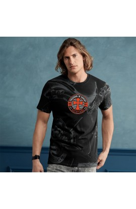 MOTORCYCLE ADULT ALL-OVER PRINT T