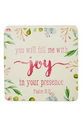 FILL ME WITH JOY DECOR BLOCK SM