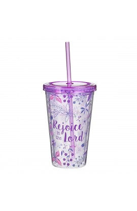 Tumbler Rejoice in the Lord