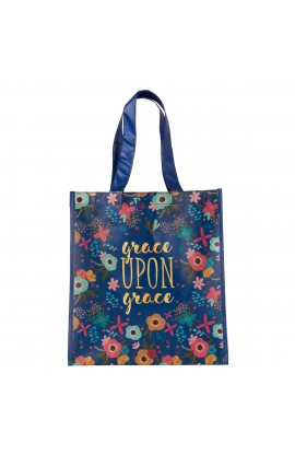 Tote Bag Grace Upon Grace John 1:16