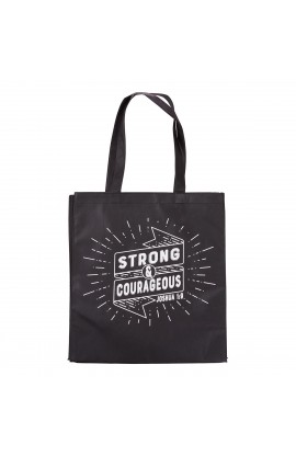 Tote, Strong & Courageous Joshua 1:9