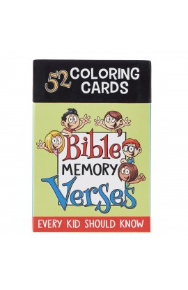 Coloring Cards 52 Verses for Kids