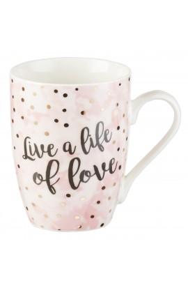 Mug Live a Life of Love