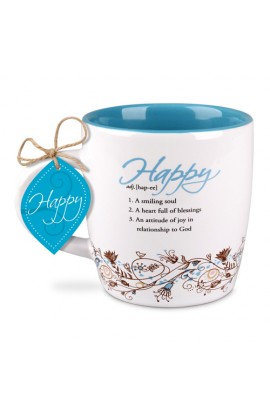 Ceramic Mug Creative Definition Happy
