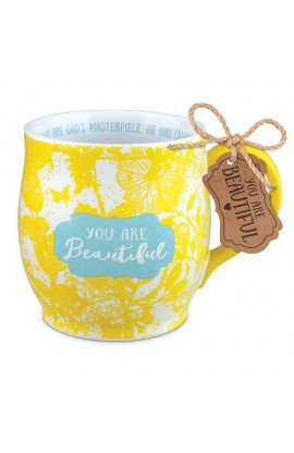 Ceramic Mug Pretty Prints You Are Beautiful