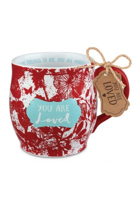 Ceramic Mug Pretty Prints You Are Loved