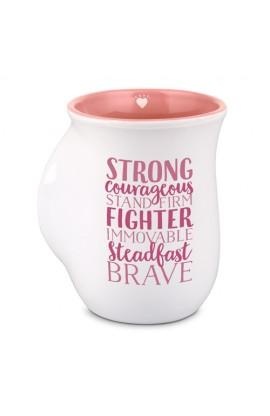 Ceramic Mug Handwarmer Inspirational Heroes Strong