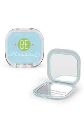 Compact Mirror Plastic/Mirror Be Blessed