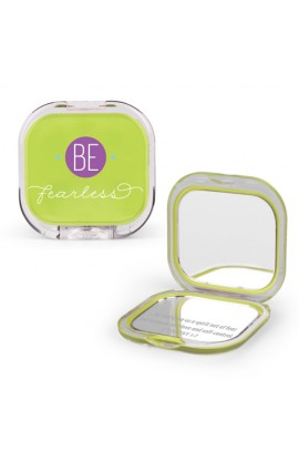 Compact Mirror Plastic/Mirror Be Fearless