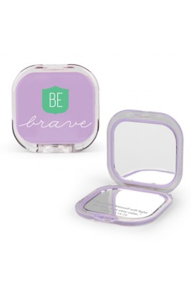Compact Mirror Plastic/Mirror Be Brave