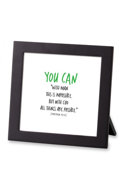 Framed Art MDF Tiny Letters You Can