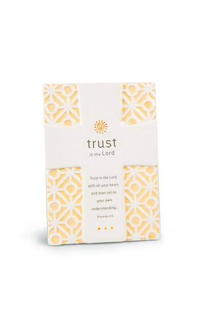 Cross/Plaque Ceramic Statements Trust